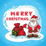 Christmas Hand Drawn Royalty Free Stock Images