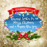 Christmas hand drawn design. EPS 10 Royalty Free Stock Photos
