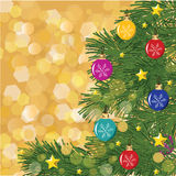 Christmas hand-drown  background Royalty Free Stock Images