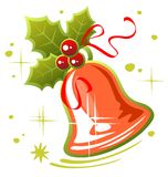 Christmas handbell Royalty Free Stock Image