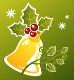 Christmas handbell Stock Photo