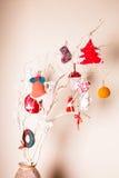 Christmas handmade decor Stock Photo
