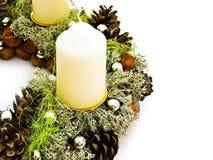 Christmas handmade garland Stock Photo