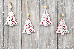 Christmas hanging decoration Royalty Free Stock Image