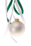 christmas hanging ornament Στοκ Εικόνα