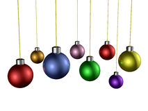 Christmas Hangings Stock Image