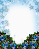 Christmas or Hanukkah Background Stock Photo
