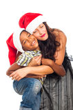 Christmas happiness Royalty Free Stock Photo