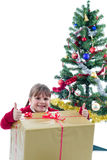 Christmas happiness Royalty Free Stock Image