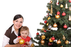 christmas happy 免版税库存图片