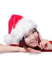 Christmas Happy beauty smile Stock Photography