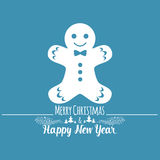 christmas happy merry new year πρόσθετες διακοπές μορφής καρτών Στοκ φωτογραφίες με δικαίωμα ελεύθερης χρήσης