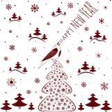 christmas happy merry new year πρόσθετες διακοπές μορφής καρτών Στοκ εικόνες με δικαίωμα ελεύθερης χρήσης
