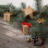 christmas happy merry new year Υπόβαθρο Στοκ Εικόνα