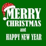 christmas happy merry new year Στοκ Εικόνες