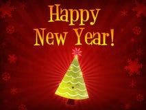 christmas happy new tree year Στοκ φωτογραφίες με δικαίωμα ελεύθερης χρήσης