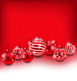 Christmas and Happy New Year Abstract Background Stock Photo