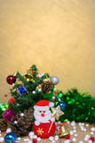 Christmas and happy new year background Stock Photography