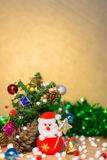 Christmas and happy new year background Royalty Free Stock Photo