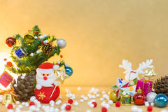 Christmas and happy new year background Stock Photo