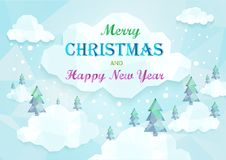 Christmas  and Happy New Year background. EPS 10 Royalty Free Stock Photos