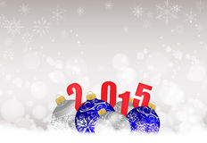 Christmas and happy new year background. Merry Christmas and happy new year background royalty free illustration