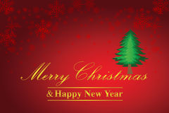 Christmas and Happy New Year Background Royalty Free Stock Images