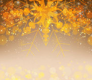 Christmas and happy new year backgroundChristmas background with snowflakes Royalty Free Stock Photos