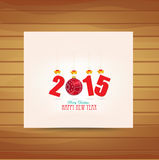 Christmas and happy new year card. Merry christmas and happy new year paper background Stock Photo
