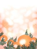 Christmas and Happy New Year Festivity. Merry Christmas and Happy New Year Parties stock illustration