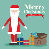 Christmas  and happy new year Royalty Free Stock Image