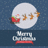 Christmas  and happy new year Royalty Free Stock Images