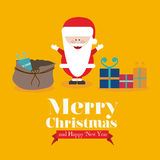 Christmas  and happy new year Stock Photography