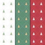 Christmas and happy new year pattern. Seamless minimal christmas Stock Photography