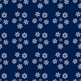 Christmas and New Year Snowflakes seamless pattern. Christmas and Happy New Year Snowflakes seamless pattern. Will be used for textile, wrapping paper, postcard Royalty Free Stock Image