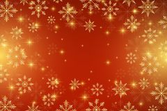 Christmas and Happy New Years background with snowflakes, illustration. Christmas and Happy New Years background with snowflakes, illustration Stock Image