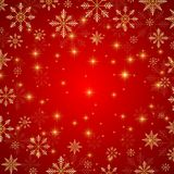 Christmas and Happy New Years background with snowflakes, illustration. Christmas and Happy New Years background with snowflakes, illustration Stock Photos