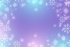 Christmas and Happy New Years background with snowflakes, illustration. Christmas and Happy New Years background with snowflakes, illustration Royalty Free Stock Photography