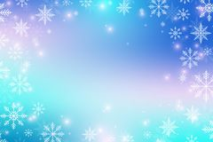 Christmas and Happy New Years background with snowflakes, illustration, raster image. Christmas and Happy New Years background with snowflakes, illustration Stock Photo