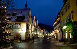 Christmas in Haslach, Germany royalty free stock image