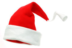 Christmas Hat. Isolated on a white background stock photography
