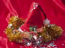 Christmas hat Stock Image