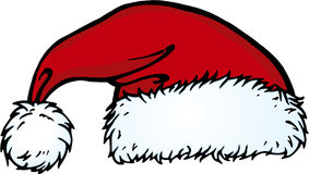 Christmas Hat. Illustration of Santa's hat Stock Photography