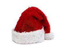Christmas hat. Santa hat on white background Stock Photography