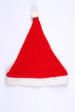 Christmas hat. Santa's christmas hat isolated on white Royalty Free Stock Image