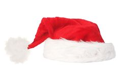 Christmas hat isolated 2 Royalty Free Stock Photography