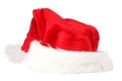 Christmas hat isolated Royalty Free Stock Image