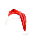 Christmas hat isolated Stock Image