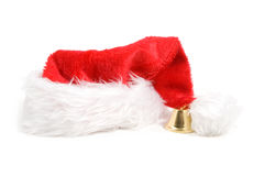 Christmas hat isolated over white. Background royalty free stock images