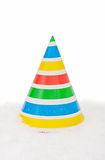 Christmas hat isolated Royalty Free Stock Photos